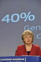 Еврокомиссар Вивиен Рединг (Фото: Европейская комиссия)