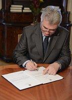 Председатель Верхней палаты социал-демократ Милан Штех (Фото: ЧТК)