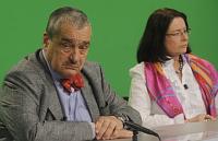 Карел Шварценберг, Мирослава Немцова (Фото: ЧТК)