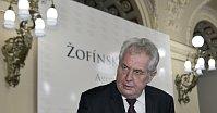Президент Милош Земан (Фото: ЧТК)