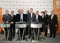 Депутаты Чешской социал-демократической партии с христианскими демократами (Фото: ЧТК)