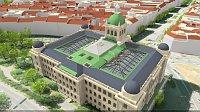 Визуализация ремонта Национального музея