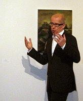 Куратор выставки Петр Недома (Фото: Лорета Вашкова, Чешское радио - Радио Прага)