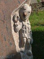 Гурвинек на памятнике в городке Храст-у-Пльзеня