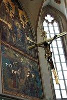 Интерьер костела Девы Марии