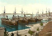 Порт Пула, около 1890 г.