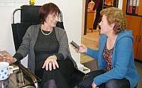 Галина Копанева с Лоретой Вашковой (Фото: Радио Прага)
