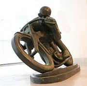 Отакар Швец: «Мотоциклист»