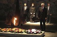 Милош Земан посетиль Памятник жертвам Холокоста в Иерусалиме (Фото: ЧТК)