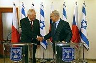 Милош Земан и Биньямин Нетаньяху (Фото: ЧТК)