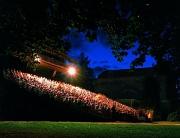 Вращающийся театр из парка замкового комплекса в Чешском Крумлове