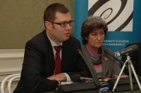 Иржи Нантл и Алена Гайдушкова (Фото: Яна Шустова, Чешское радио)