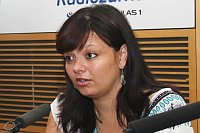 Режиссер Сильвия Дымакова (Фото: Матей Палка, Чешское радио)
