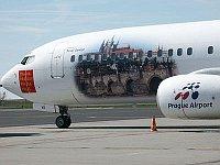 Самолет компании Travel Service (Фото: Мариан Войтек, Чешское радио)