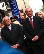 Вацлав Клаус и Пржемысл Соботка (Фото: Кристина Макова, Чешское радио - Радио Прага)