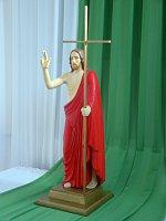 Статуя Воскресшего Иисуса (Фото: сестра Людмила Клостер, SjE)