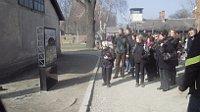 Чешские школьники слушают рассказ узницы Освенцима Эвы Лишковой (Фото: Ася Чеканова, Чешское радио - Радио Прага)