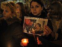 Митинг на Вацлавской площади (Фото: ЧТК)