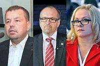 Петр Тлухорж, Иван Фукса, Яна Надьова (сейчас Нечасова). Фото: ЧТК
