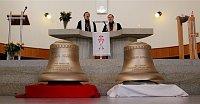 Колокола получившие имена - Ян Гус и Ян Амос Коменский (Фото: Ян Строугал, MLADÁ FRONTA DNES)