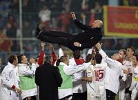 Тренер Михал Билек с чешской сборной (Фото: ЧТК)