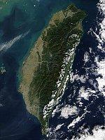 Тайвань (Фото: НАСА)