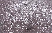 Вацлавская площадь 28-ого октявря 1918 г.