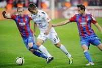 «Виктория» во встрече с соперниками из ФК Словацко (Фото: ЧТК)