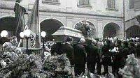 Похороны Яна Палаха (Фото: Чешское Телевидение)