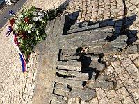 Памятник Яну Палаху на Вацлавской площади (Фото: Кристина Макова, Чешское радио - Радио Прага)