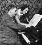 Композитор Эрвин Шульгоф и танцовщица Мильча Майерова (Фото: Wikimedia Commons, Free Domain)