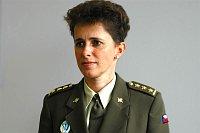 Пресс-секретарь генштаба чешской армии Яна Ружичкова (Фото: Архив Армии ЧР)