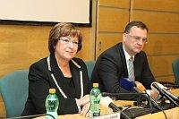 Людмила Мюллерова и Петр Нечас (Фото: Архив Правительства ЧР)