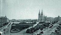 Площадь Мира (пражский район Винограды) в начале 20-го века (Фото: Free Domain)
