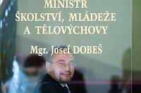 Министр образования Йозеф Добеш
