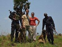 Хана Беме говорила о помощи в дрессировке собак местным полицейским и таможенникам, чтобы четвероногие смогли научиться вынюхивать как слоновую кость, так и мясо животных, внесенных в Красную книгу (Фото: Зоо Либерец)