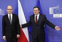 Богуслав Соботка и Жозе Баррозу (Фото: ЧТК)
