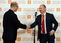 Богумил Соботка и Михал Гашек (Фото: Филип Яндоурек, Чешское радио)
