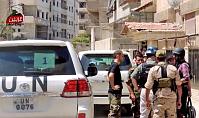 Инспекторы ООН в Сирии (Фото: ЧТК)