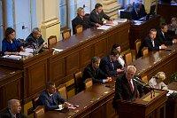 Президент Милош Земан в Палате депутатов ЧР (Фото: ЧТК)