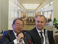 Павел Глинка и Даниэл Ржепа (Фото: Мартина Шнайбергова, Чешское радио - Радио Прага)