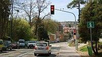 «Умный» светофор в городе Пелгржимов (Фото: ЧТ24)
