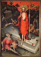 Мастер Тршебоньского алтаря, «Воскрешении из мертвых» (1380 - 1385 гг.)