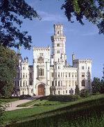 Замок Глубока-над-Влтавой