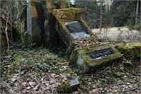 Надгробие сербского военнопленного на заброшенном кладбище австрийского концлагеря Гайнрихсгрюн в окрестностях города Ротава (Фото: Владимир Поморцев)