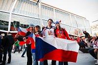 Чешские фанаты в Братиславе (Фото: ЧТК)
