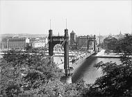 Ярослав Брунер-Дворжак: мост Штефаника, вокруг 1928 г. (Источник: коллекция Шойфлер)