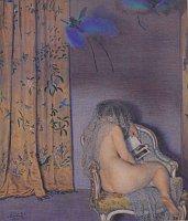 Макс Швабински «Райские птицы», 1904 г., Национальная галерея в Праге