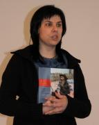 Директору Музея ромской культуры города Брно Яне Полаковой