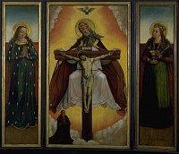 Алтарь со Святой Троицей мастера Литомержицкого алтаря